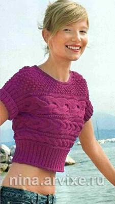 Вязание пуловера